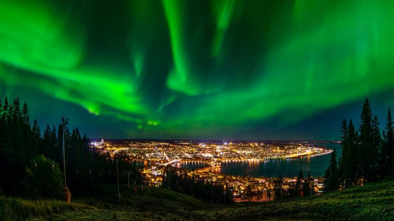 Norrsken Östersund Jämtland