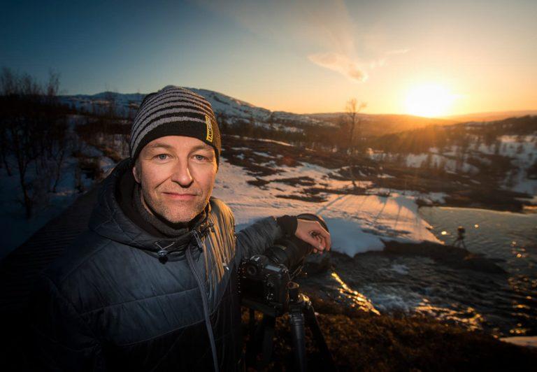 Fotograf Göran Strand i Östersund