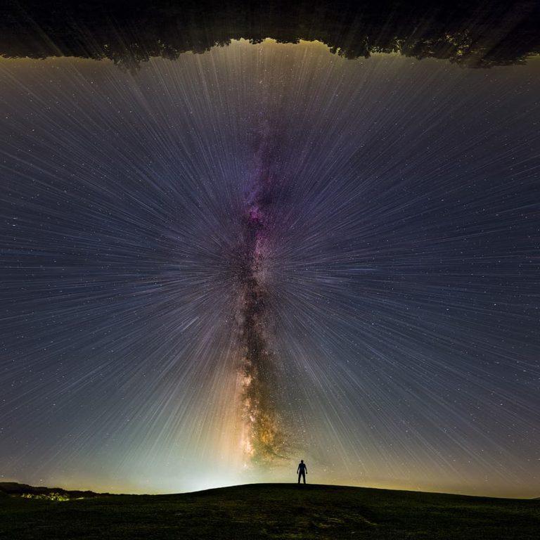 Vintergatan astrofoto