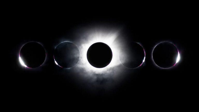 Solförmörkelse astrofoto