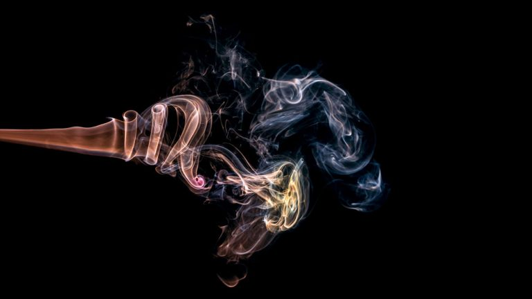 Rök konst konstfoto