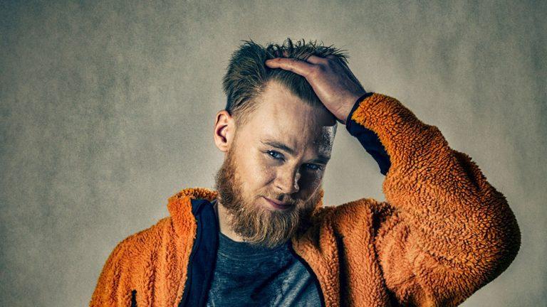 Porträtt studio modell