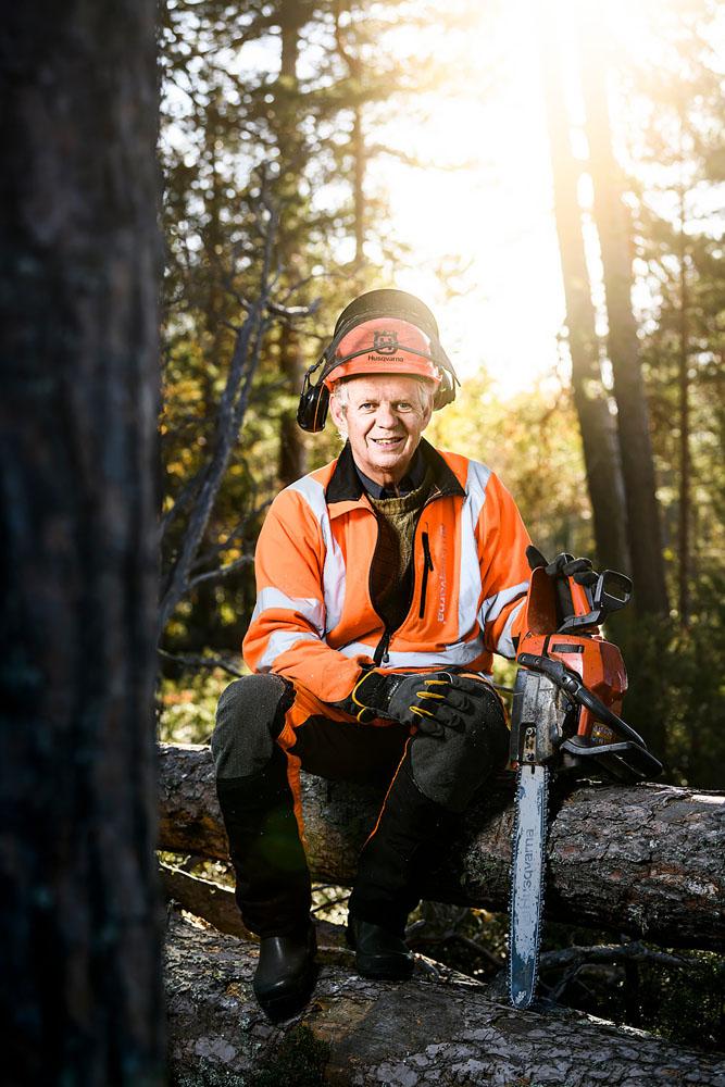 Porträttfoto miljöbild reportage